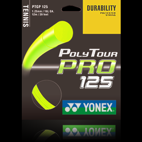 Yonex Poly Tour Pro 1,25mm Fluo Yellow ( 12 m )